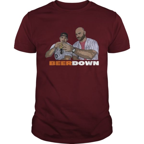 Eddie Miller Lite Beer Down Shirt