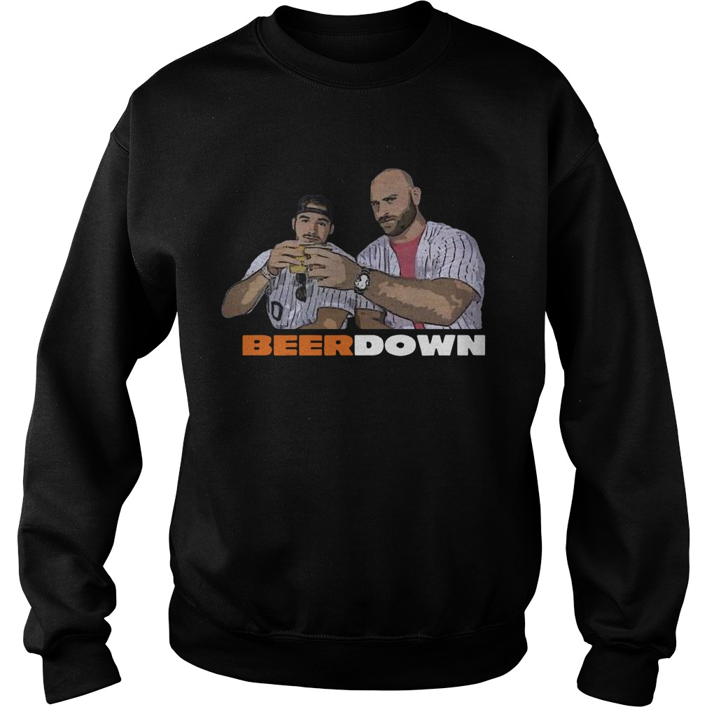 Eddie Miller Lite Beer Down Sweater
