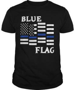 Espresso Depresso Blue Flag Shirt
