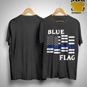 Espresso Depresso Blue Flag Shirt