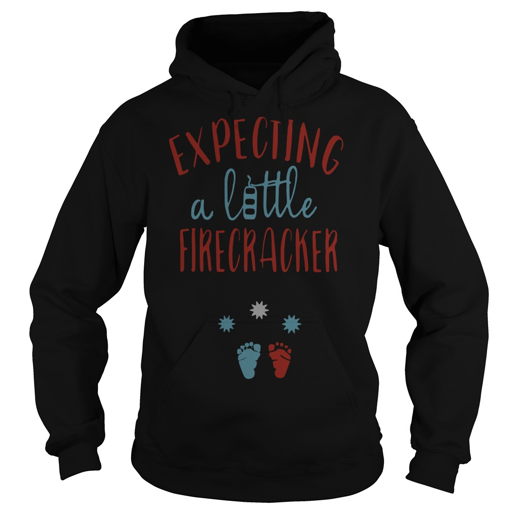 Expecting A Little Firecracker Hoodie