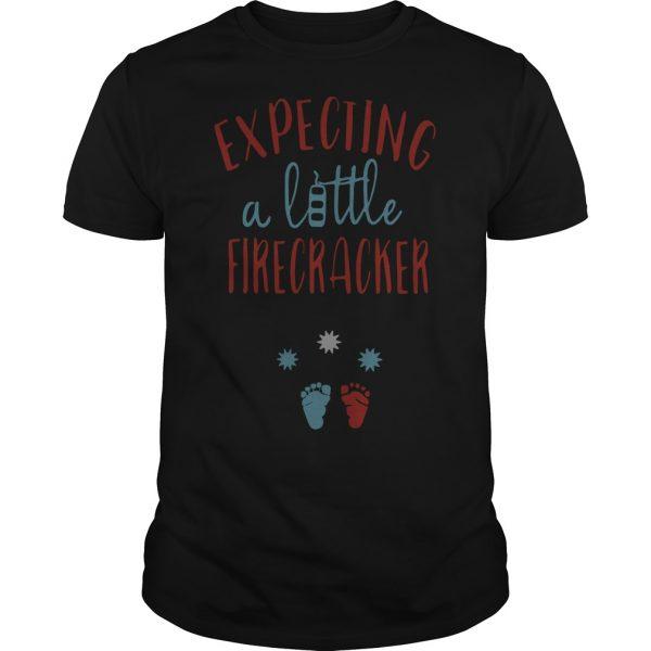Expecting A Little Firecracker Shirt