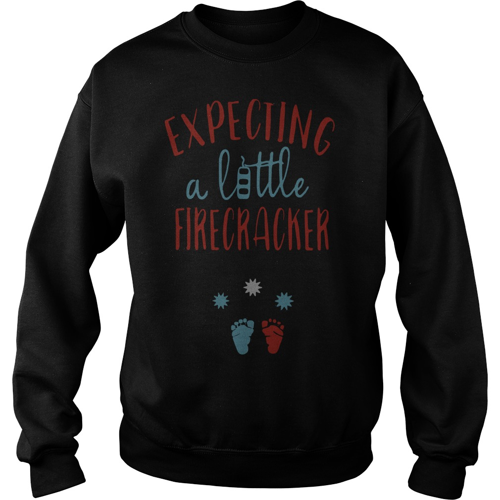 Expecting A Little Firecracker Sweater