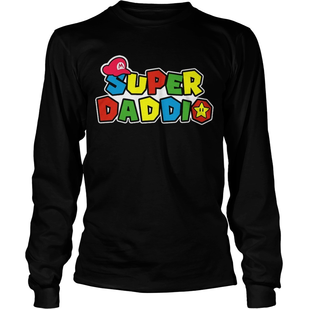Father's Day Super Daddio Longsleeve Tee