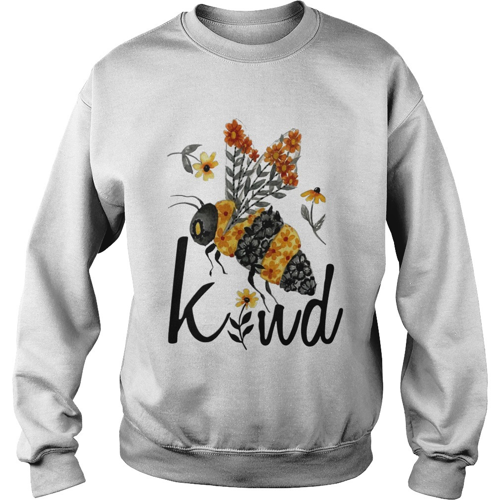 Flower Bee Kind Sweater
