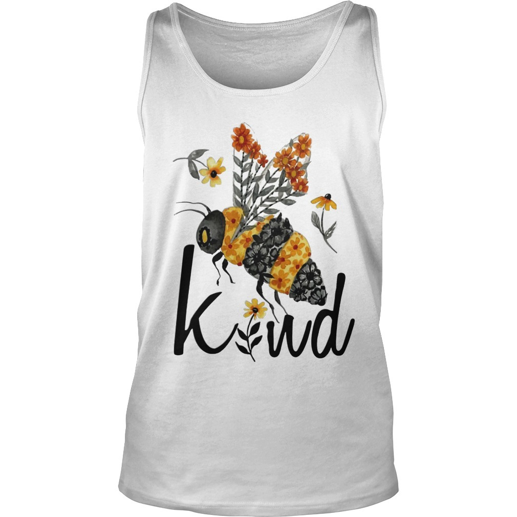 Flower Bee Kind Tank Top
