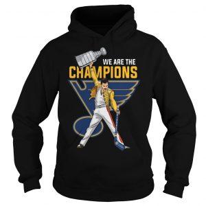 Freddie Mercury St. Louis Blues We Are The Champions Hoodie