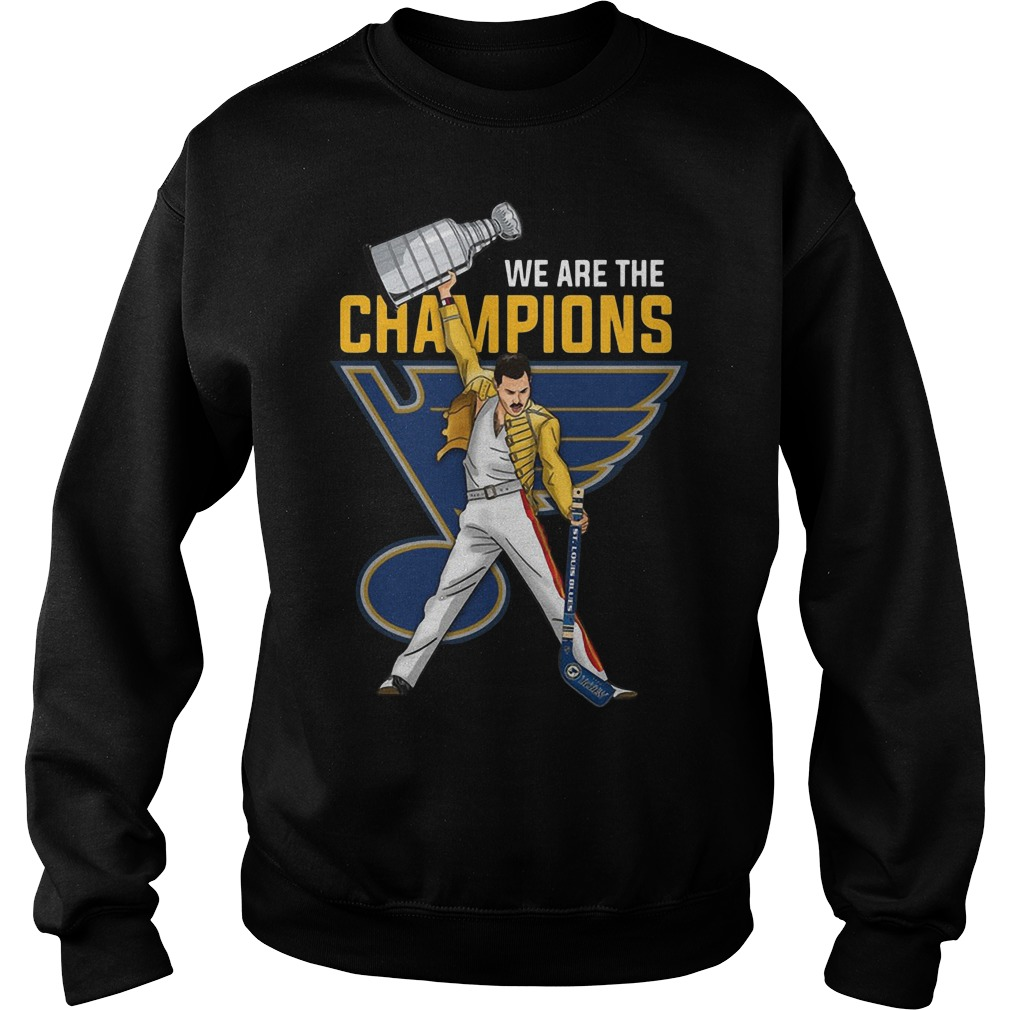 Freddie Mercury St. Louis Blues We Are The Champions Sweater