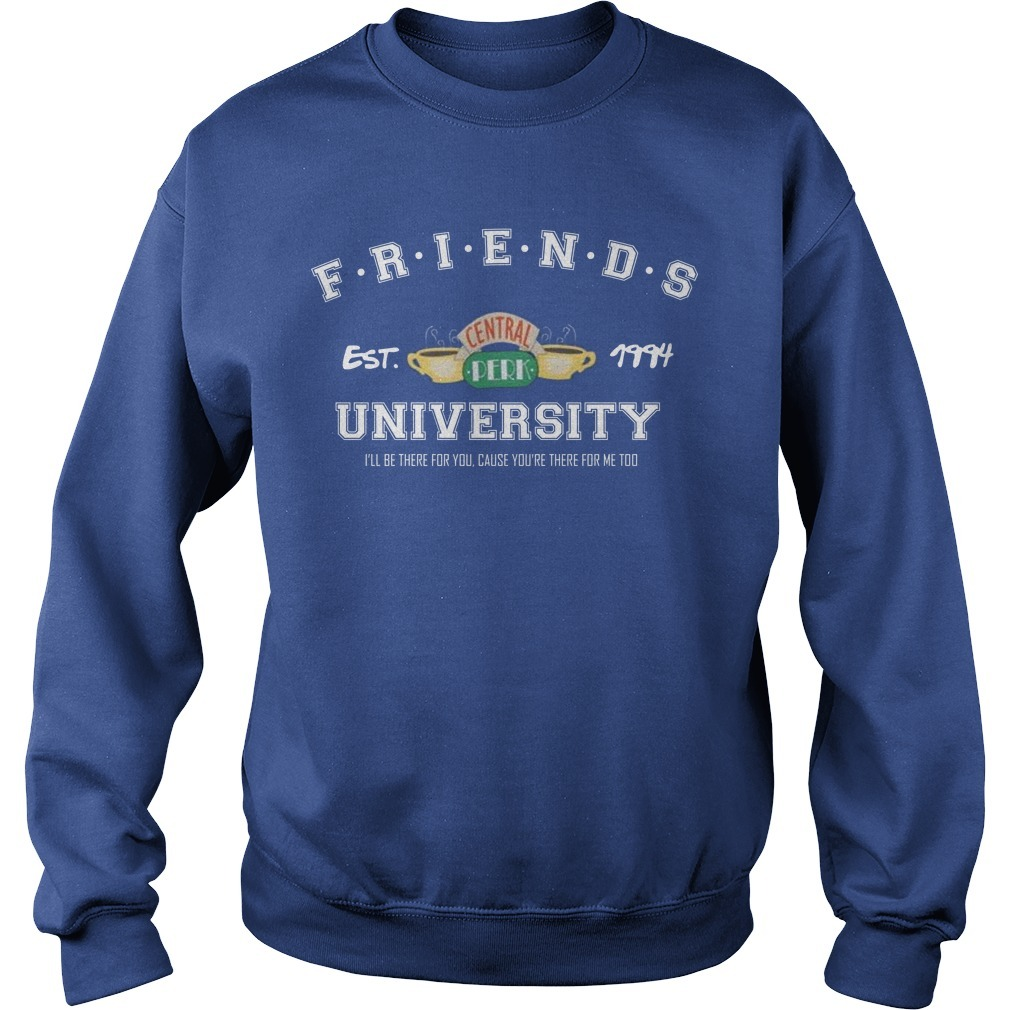 Friends Est Central 1994 University I'll Be There For You Sweater