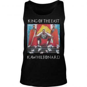 GOT Toronto Raptors King Of The East Kawhi Leonard Tank Top