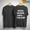 God Guns And Trump Shirt