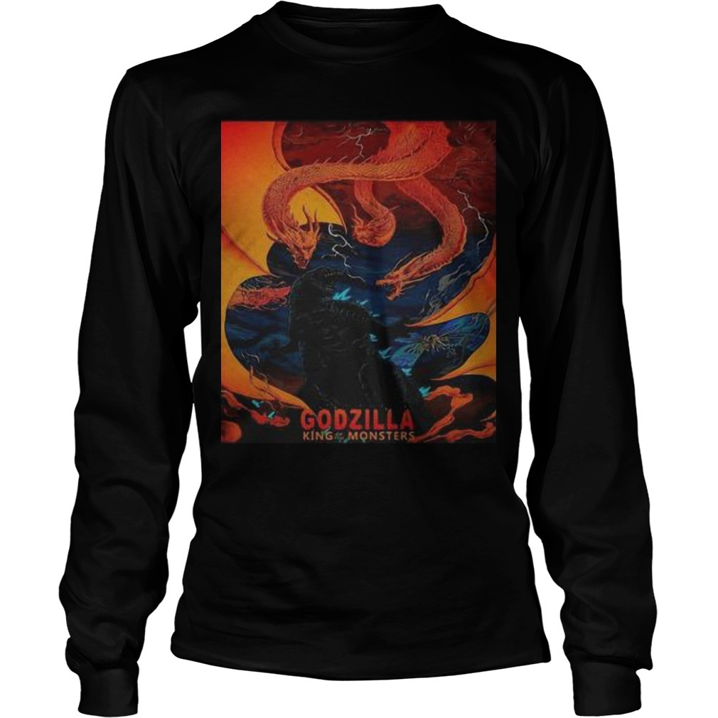 Godzilla King Of The Monster Longsleeve Tee