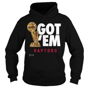 Got 'Em Toronto Raptors Champions Hoodie