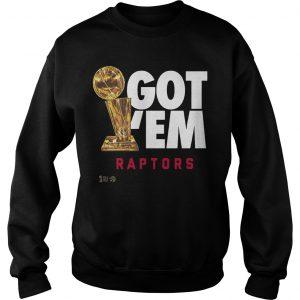 Got 'Em Toronto Raptors Champions Sweater