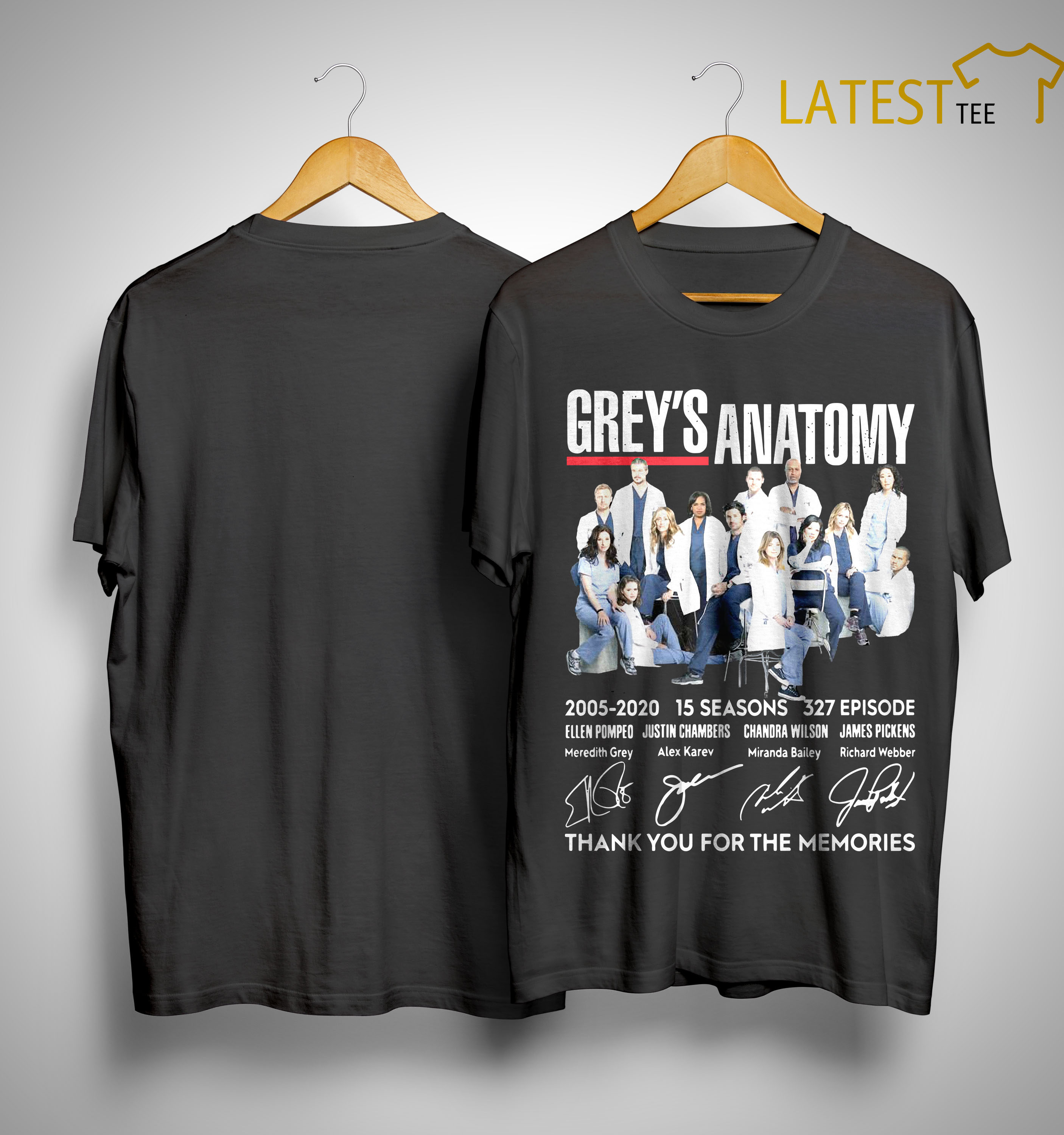 Grey\'S Anatomy 2020 Schedule Grey's Anatomy 2005 2020 15 Seasons 327 Episode Thank You For The