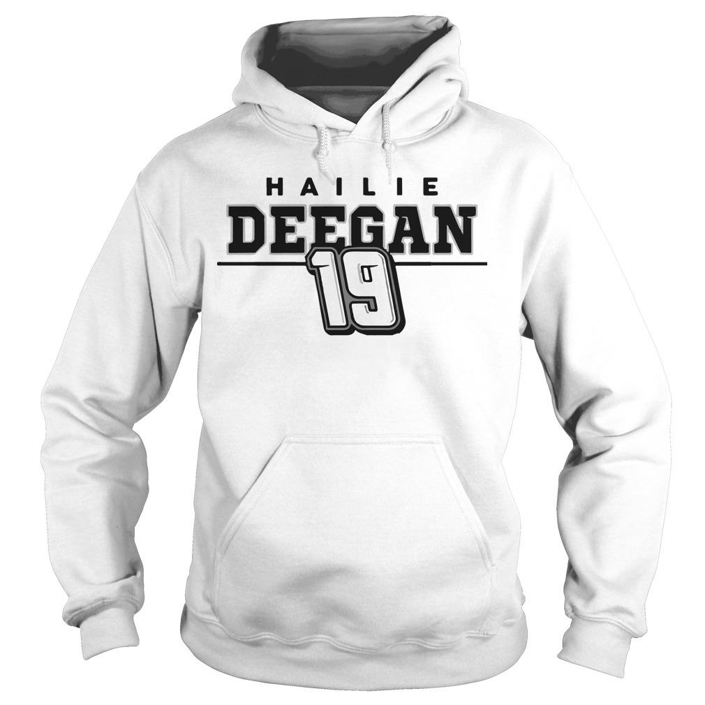 Hailie Deegan 19 Hoodie
