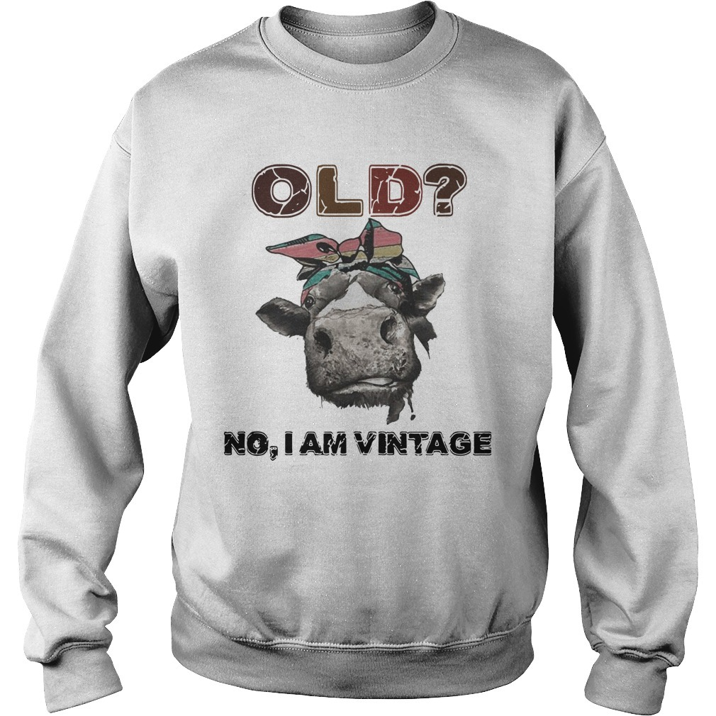 Heifer Old No I Am Vintage Sweater