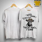 Heifer Rock Scissors Paper Throat Punch I Win Shirt