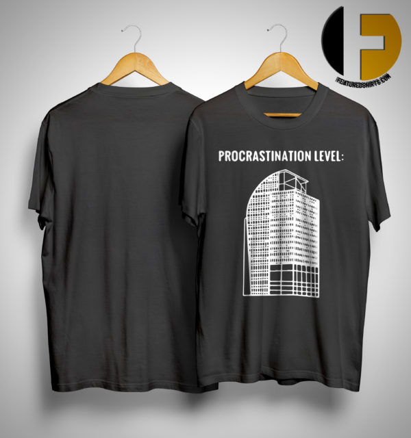 I4 Eyesore Procrastination Level Shirt
