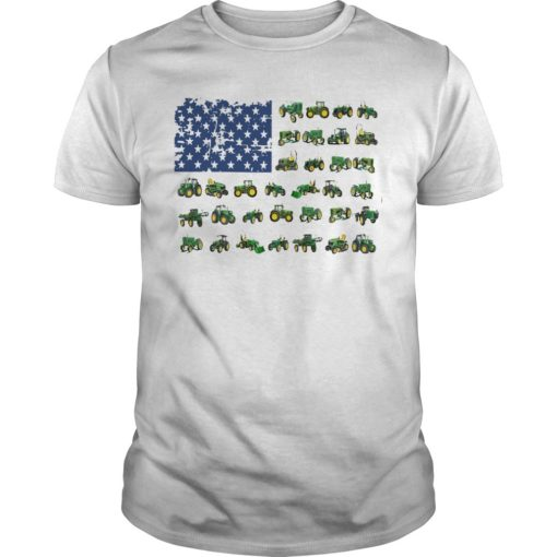 Independence Day American Flag Jeep Shirt