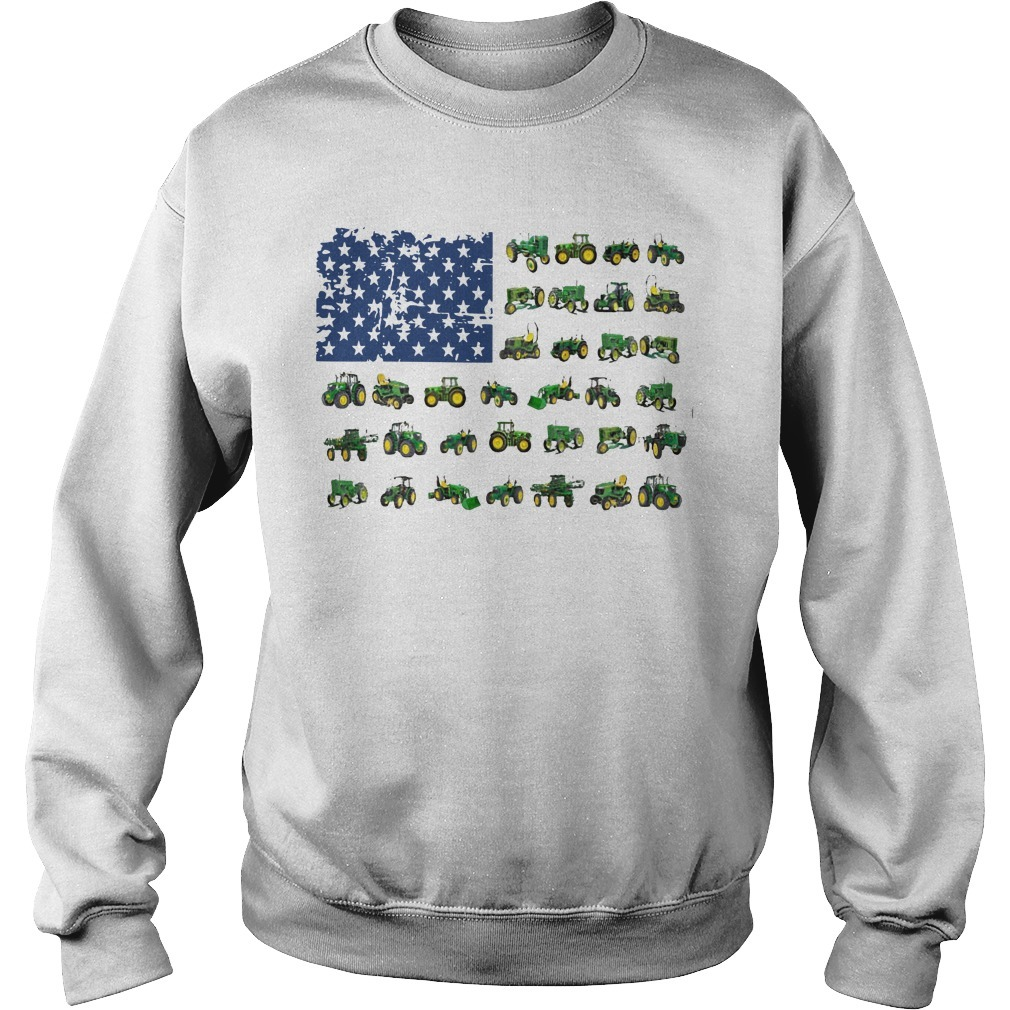 Independence Day American Flag Jeep Sweater
