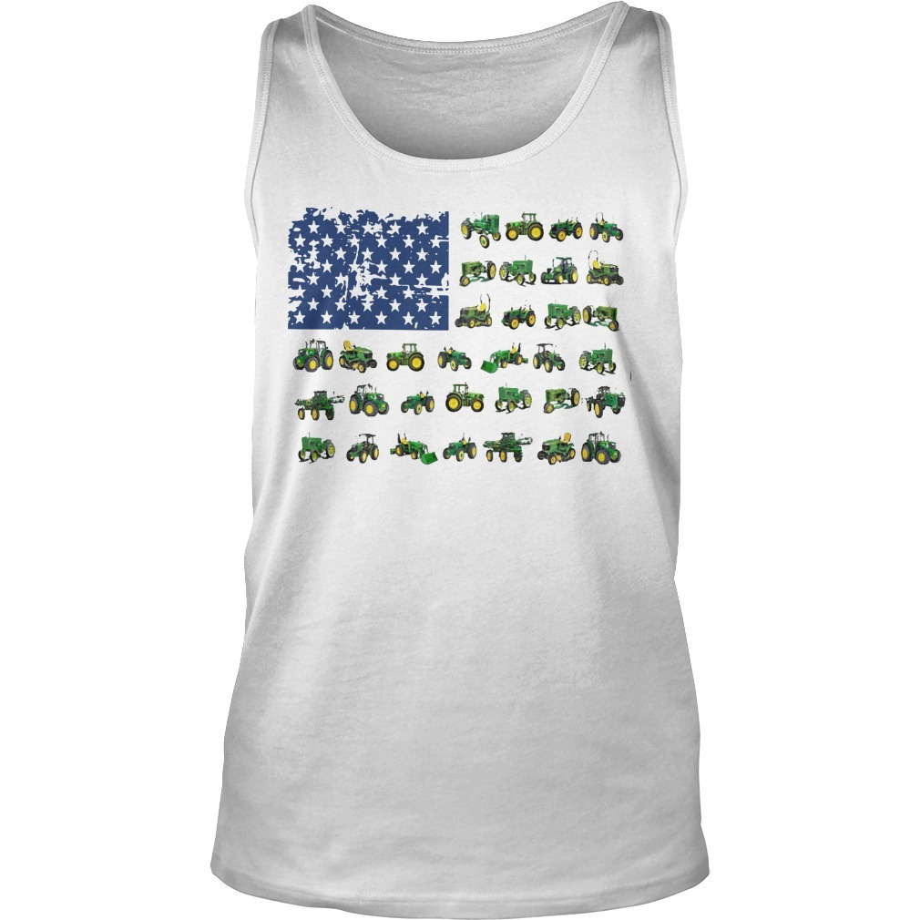 Independence Day American Flag Jeep Tank Top