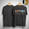 Iron Man Fathor Like A Dad Just Way Mightier Shirt