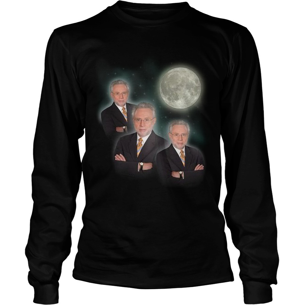 Jake Tapper Three Wolf Moon Long Sleeve Tee