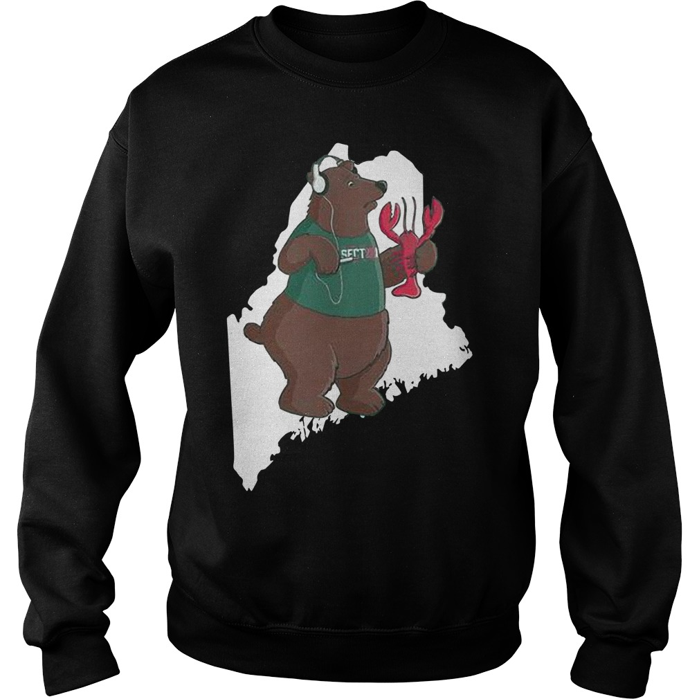 Jared Carrabis Section 10 Maine Bear Sweater