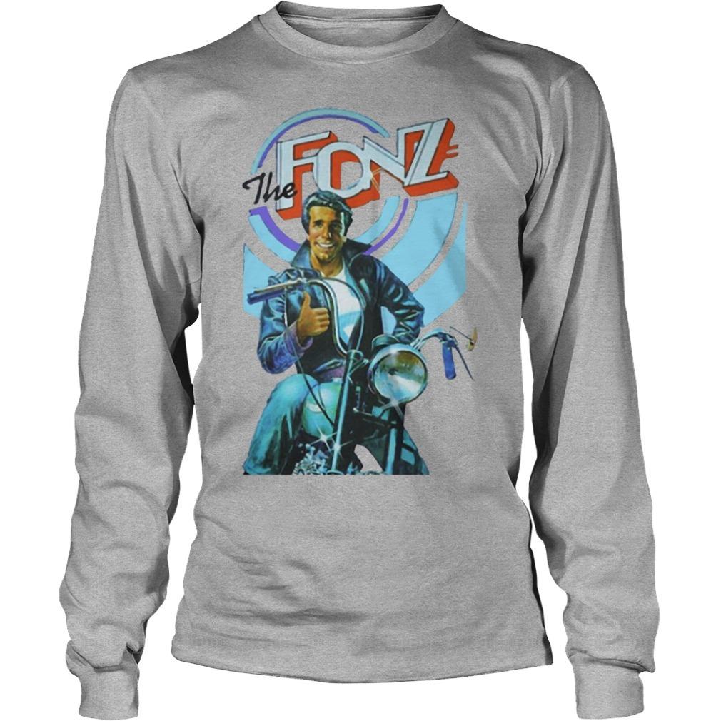 Jeff Dye The Fonz Long Sleeve Tee