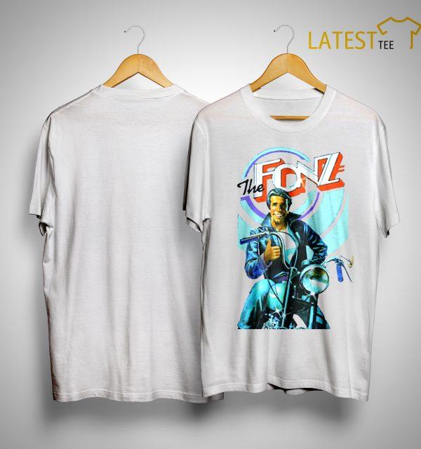 Jeff Dye The Fonz Shirt
