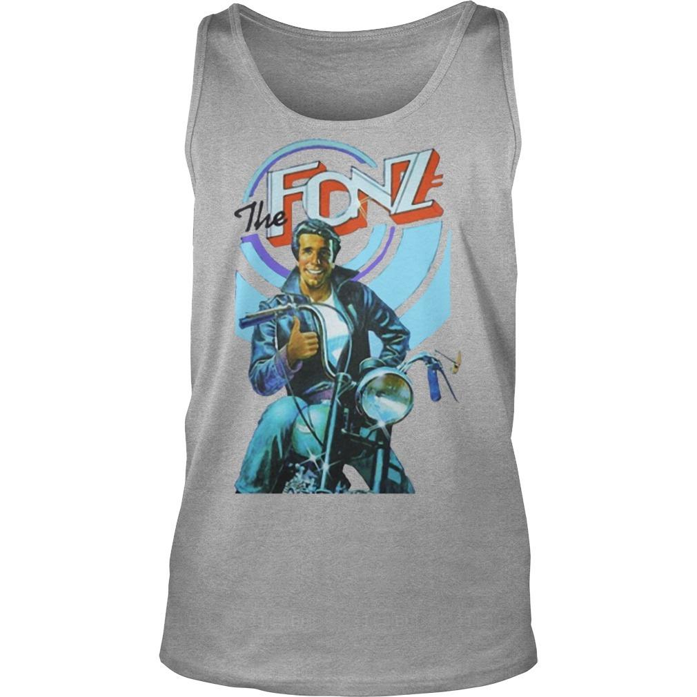 Jeff Dye The Fonz Tank Top