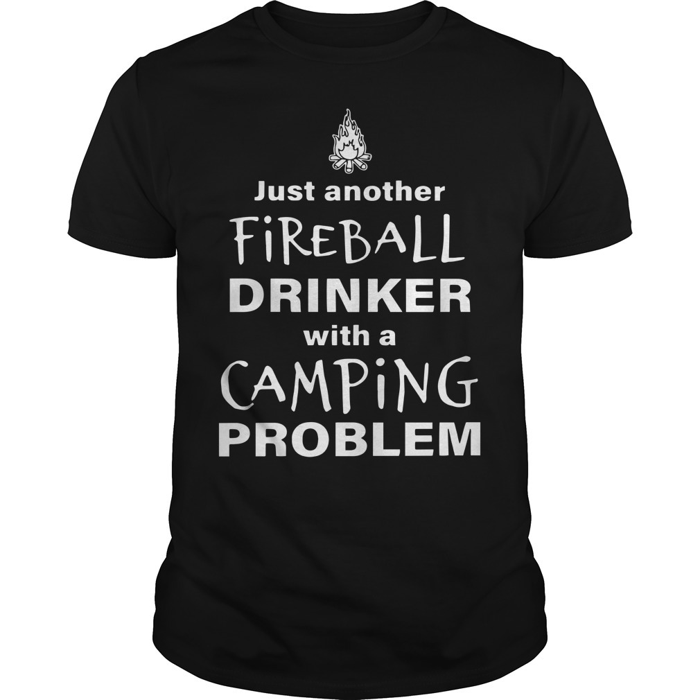 Just Another Fireball Drinker With A Camping Problem Tank Top