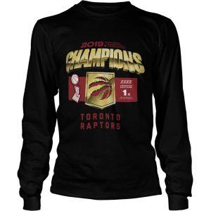 Kawhi Leonard Toronto Raptors Championship 2019 Longsleeve Tee