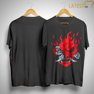 Keanu Reeves Cyberpunk 2077 Samurai T Shirt