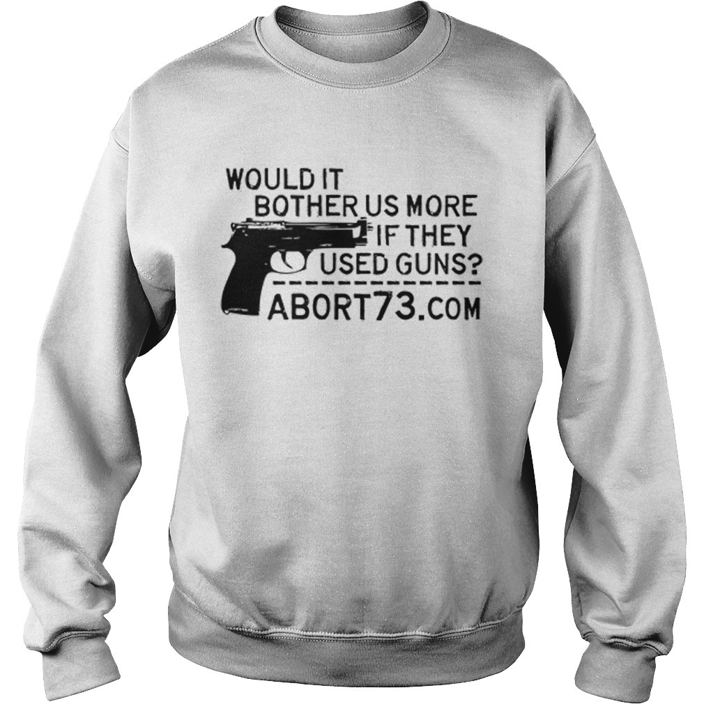 Kelsey Grammer Sports Would It Bother Us More If They Used Guns Sweater