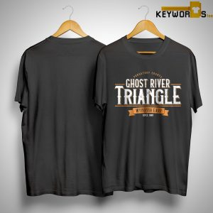 Kevin Bachelder Ghost River Triangle Wynonna Earp Since 1981 Shirt