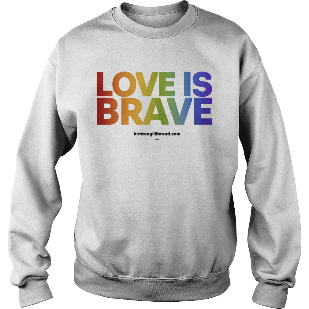 Kirsten Gillibrand Love Is Brave Sweater