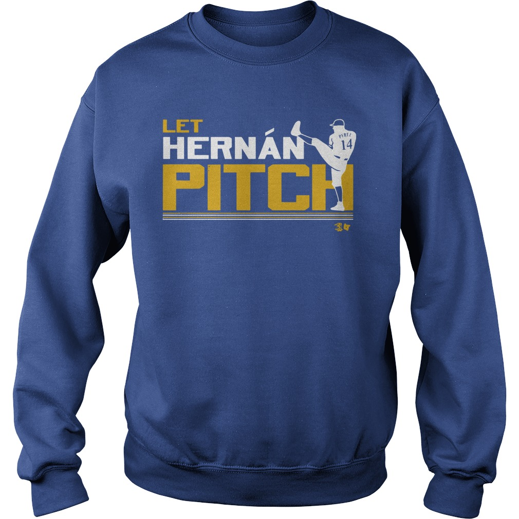 Let Hernán Pitch Sweater