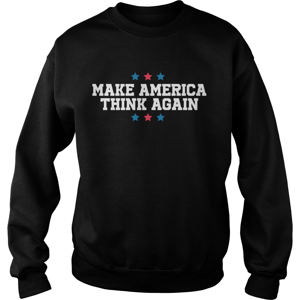 Linz Defranco Make America Think Again Sweater