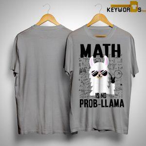 Llama Math Is No Prob-llama Shirt