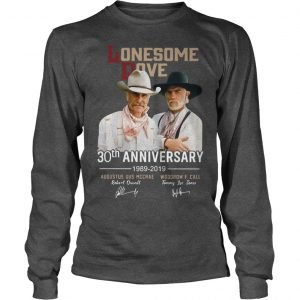 Lonesome Dove 30th Anniversary 1989 2019 Longsleeve Tee