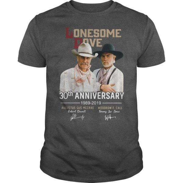Lonesome Dove 30th Anniversary 1989 2019 Shirt
