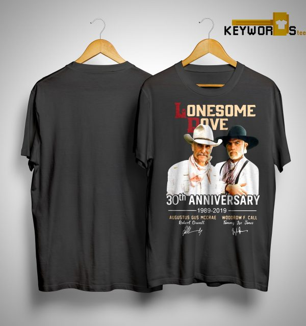 Lonesome Dove 30th Anniversary 1989 2019 Shirt