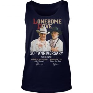 Lonesome Dove 30th Anniversary 1989 2019 Tank Top