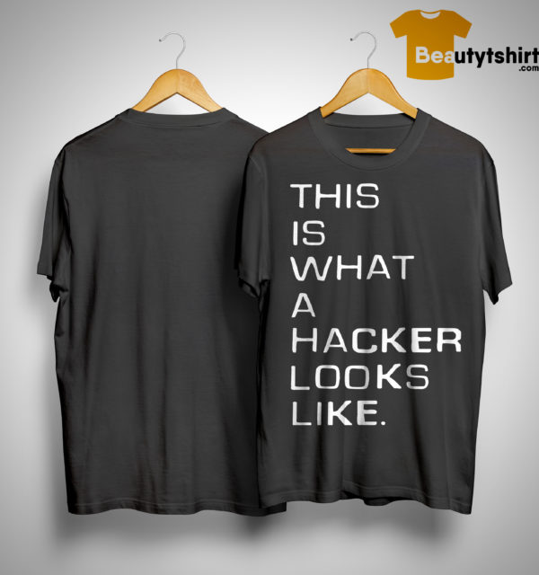 Marcus J Carey This Is What A Hacker Looks Like Shirt