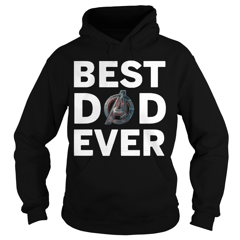 Marvel Avengers Endgame Best Dad Ever Hoodie