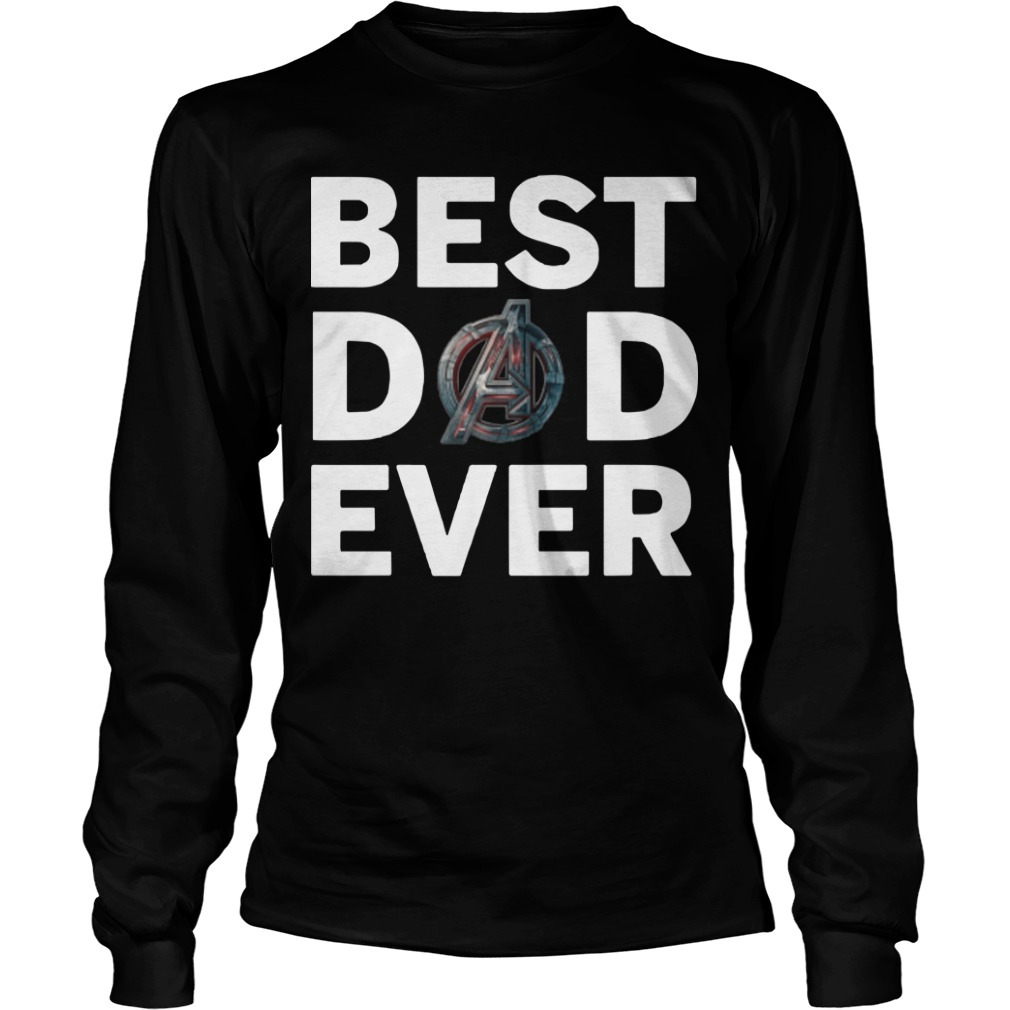 Marvel Avengers Endgame Best Dad Ever Longsleeve Tee