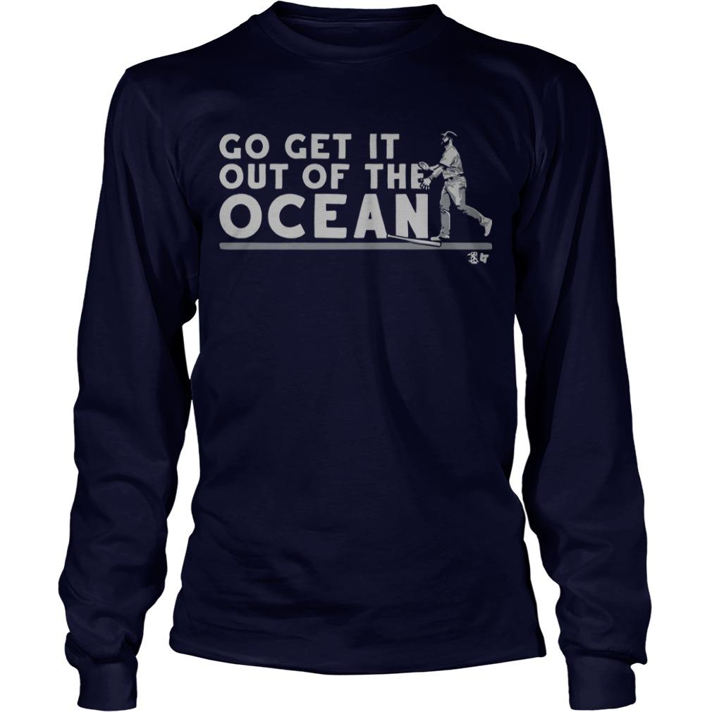 Max Muncy Go Get It Out Of The Ocean Longsleeve Tee