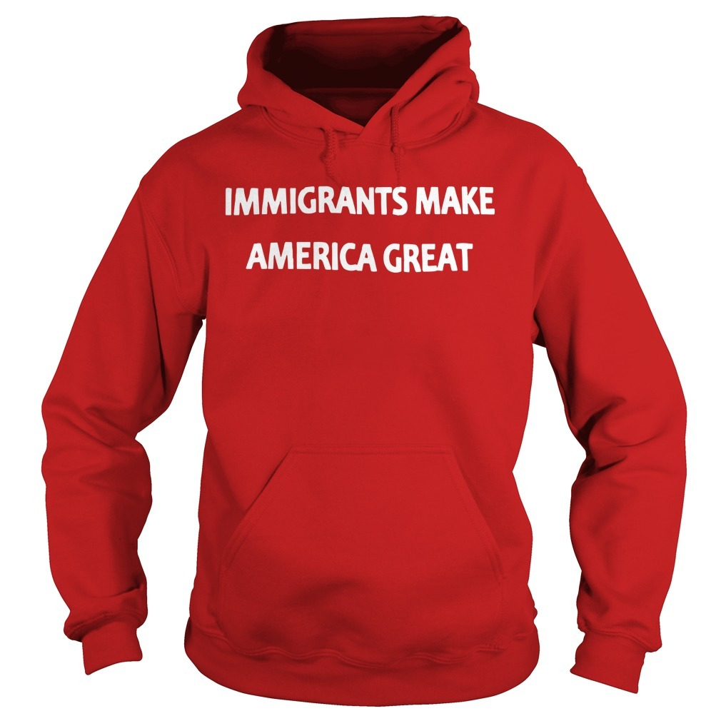 Mexican Rug Dealer Immigrants Make America Great Hoodie